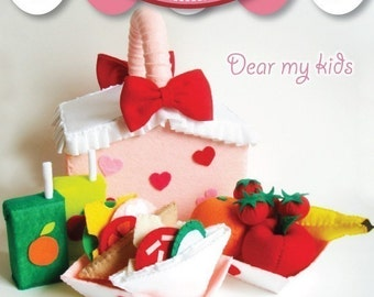 Sweet Heart Picnic Set - PDF Patterns