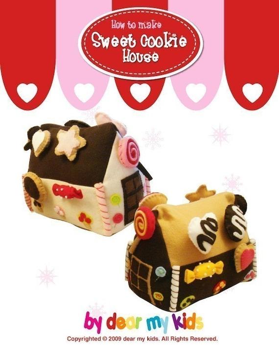 Sweet Cookie House - PDF Pattern