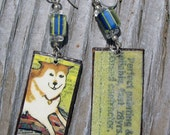 Good Dog Yellow Earrings