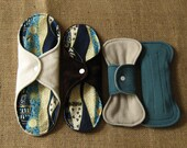 Cloth Menstrual Pad Set -Byzantium