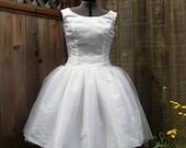 Audrey Hepburn Funny Face Wedding Gown 1950s Wedding Gown