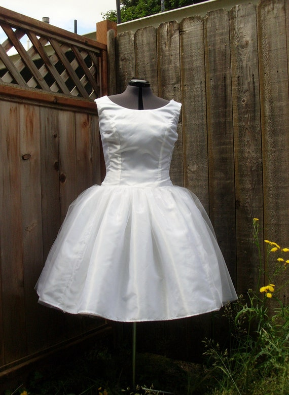 Items Similar To Audrey Hepburn Funny Face Wedding Gown 1950s Wedding Gown On Etsy