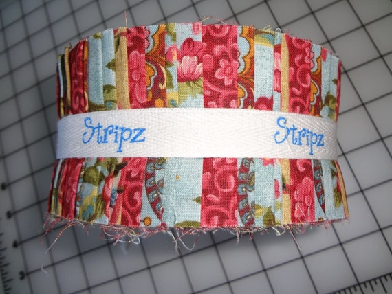 Stripz Fabric Pack Shalimar Jelly Roll Strips By