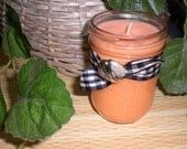Fresh Mornin OJ 8 ounce Soy Wax Jar Candle