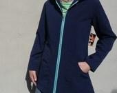 Zippered Raincoat Hoodie Made to Order