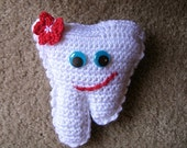 INSTANT Download  PDF pATTERN FOR crochet Tooth Fairy Pillow. Easy
