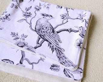 organic cotton linen burp cloth set of 3 holiday gift idea