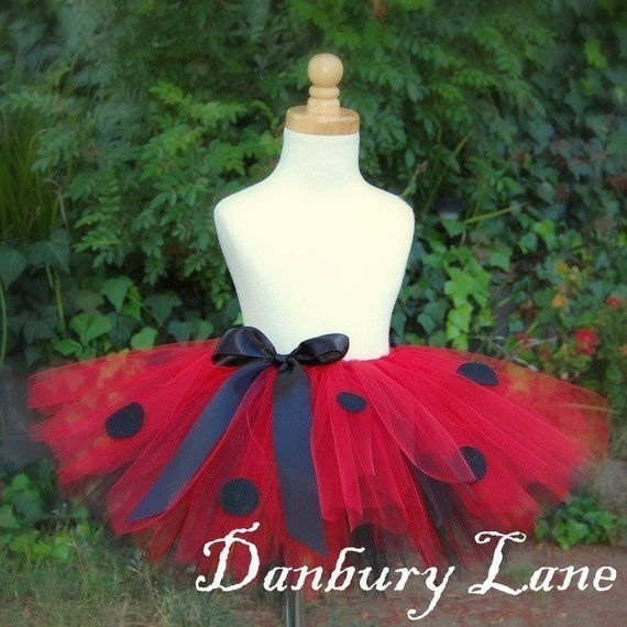 Little Lola LadyBug Tutu Toddler Size 2 To 5 Years By