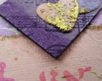 Ani L'Dodi V'Dodi Li - I am my beloved's - handmade card