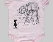 My Star Wars AT-AT Pet - Baby Girl Onesie Bodysuit (Star Wars Baby Girl Clothing)