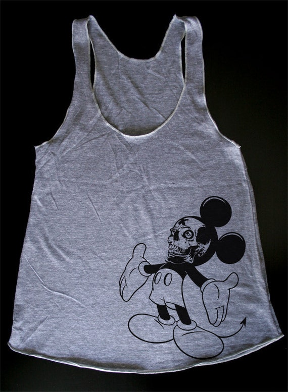 Mickey's Hug - Womens Tank Top printed with ECO ink ( Mickey Mouse tank )