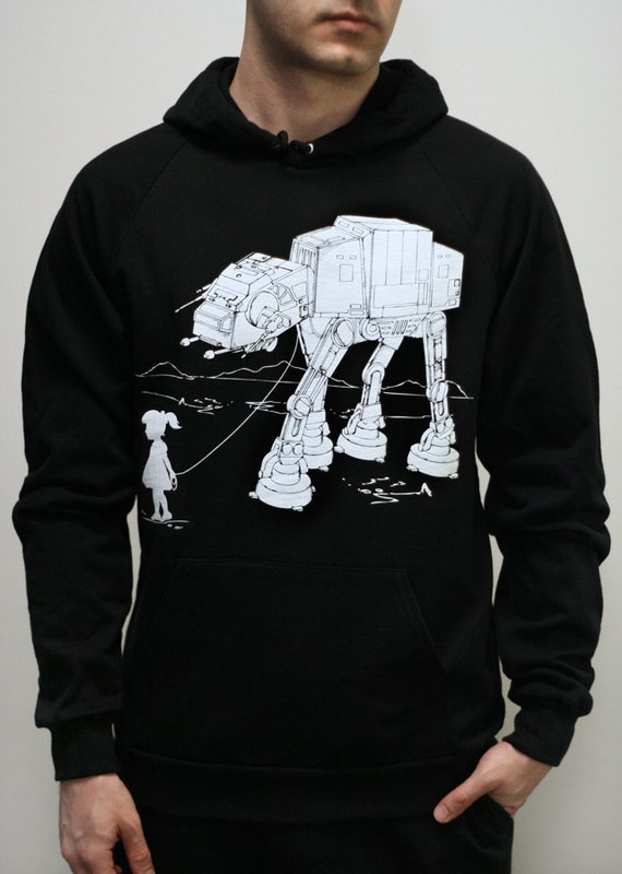 my star wars atat pet mens hoodie unisex by engramclothing. Black Bedroom Furniture Sets. Home Design Ideas