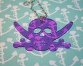 Purple Pirate Necklace