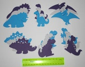 Dinosaur Die Cuts for Scrapbook or Cards (reserved for Tammy)