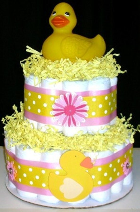 Rubber Duck Diaper Cake Rubber Duck Baby Bath Baby Bath