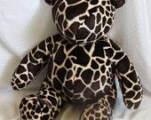 RESERVED Giraffe, the Bear