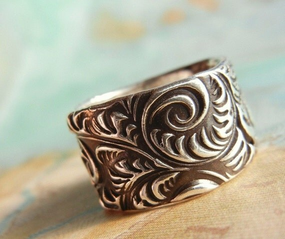 Rustic Jewelry, Rustic Ring, Rustic Silver Jewelry, Rustic Silver Ring, Handmade Rustic Jewelry, Custom Ring 4 5 6 7 8 9 10 11 12 13 14 15