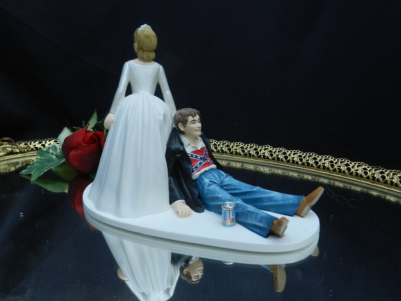wedding cake toppers Redneck Wedding Cake Toppers