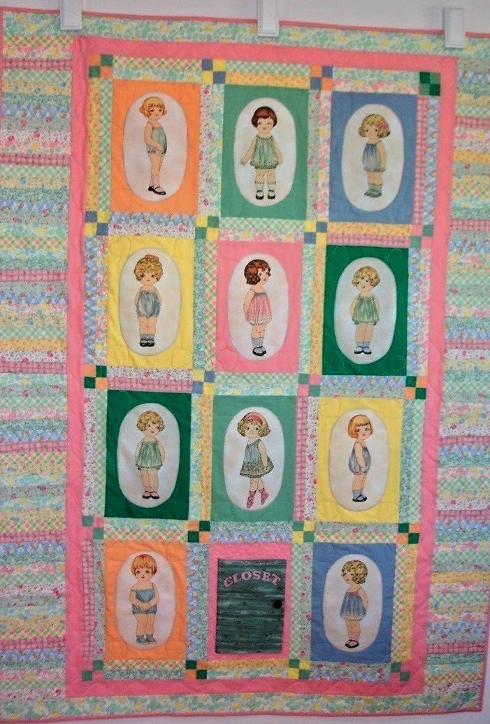 Kit To Make Paper Doll Quilt From Windham Fabric And By