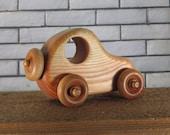 wood car push toy