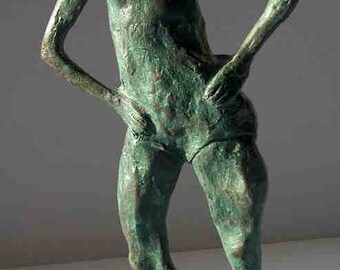 "The Heart of a Dancer"" bronze sculpture"