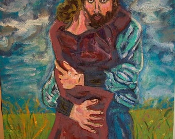 """Print, """"The Embrace"""" by Mike Schramer"""