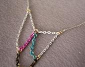 SALE - Spiderweb Necklace