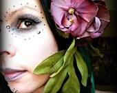 Lush Plum -  Tribal Fae Orchid Hair Clip