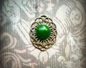 Genuine Green Jade Bindi