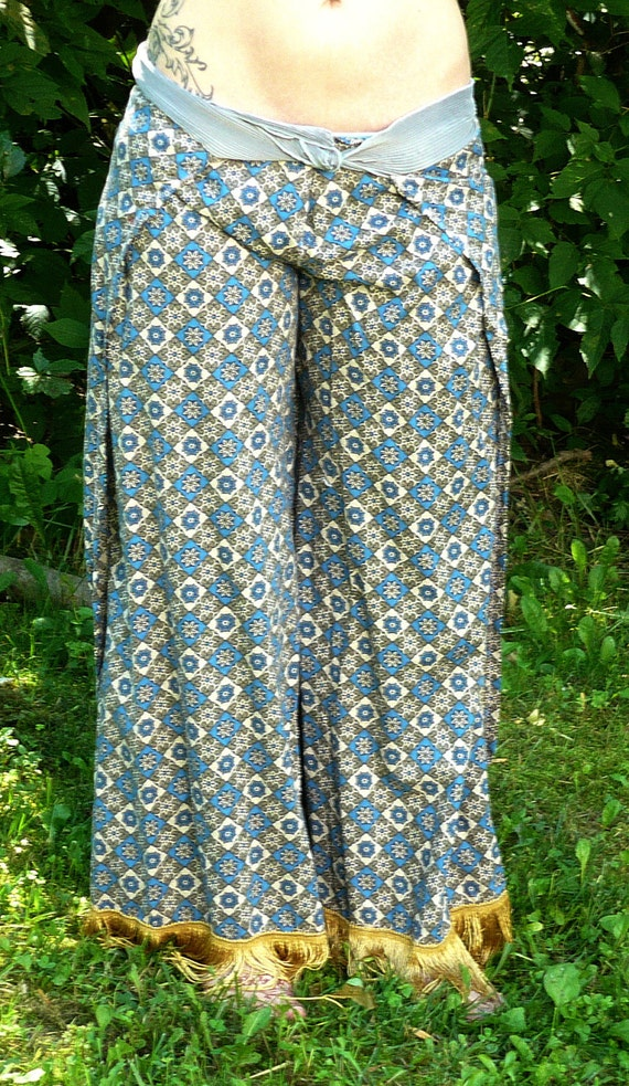 Tribal Fusion Bellydance Harem Pants  - Small to Medium