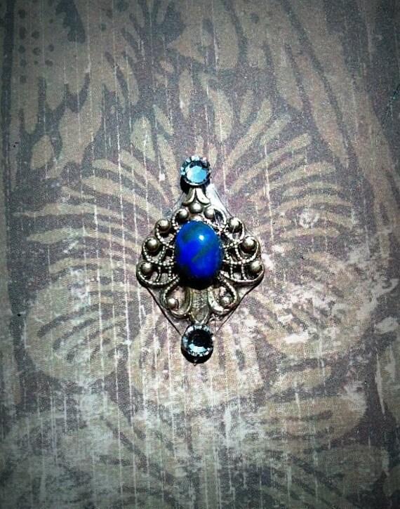 Genuine Lapis Lazuli Bindi III