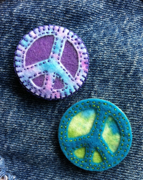 Tokens of peace and love set of two Ready to ship one to give one to keep