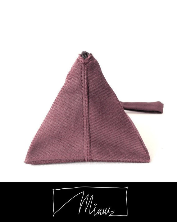 Toblerone pouch in berry