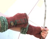 Gloves Fingerless  Once Upon A Time Huntsman