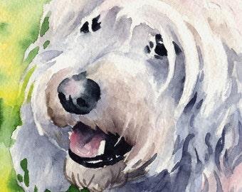 COCKAPOO Dog Art Print Signed by Artist DJ Rogers