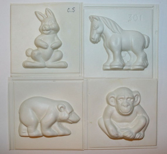 Cake Decorating Animal Molds : Wilton Sugar Molds Cake Decorating Zoo Animals Monkey