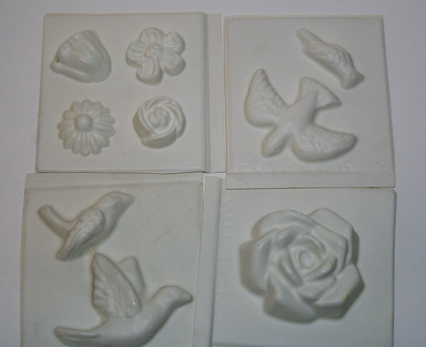 Cake Decor Molds : Wilton Sugar Molds Cake Decorating Birds and Blooms