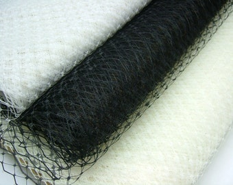 Weekly Promos -- Any Color of 3 Yards 18 inches wide Russian/French Veiling  (Mix and Match Color)
