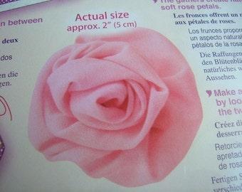 On Sale -- 1 Pack of CLOVER Sweet Heart Rose Maker -- Medium Size