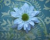jane white daisy hair clip