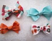 kate hair bow set