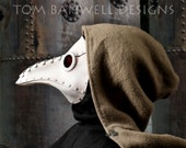 Krankheit Riveted Plague Doctor mask in White