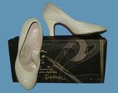 Vintage 50s Babydoll Shoes Heels Troylings  5
