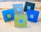 Beach Decor Drawer Pull Cabinet Knob Glass