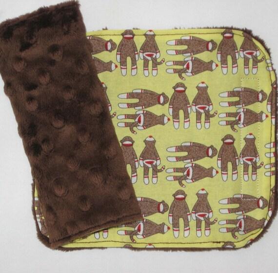 Monkey Car Seat Strap Covers