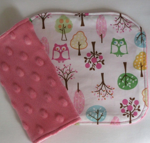 Brooke Owls Car Seat Strap Covers
