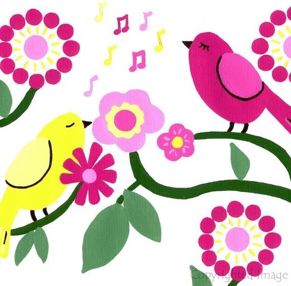 Sweet Birdsong Art Print
