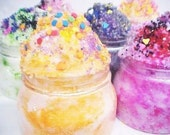 Dark Nite Witches Delite-Whipped Cake Frosting Sugar Scrub 8oz.