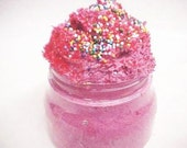Dark Fantasy~Whipped Cake Frosting Sugar Scrub 8oz. For those that Fancy the Dark Side of Desire