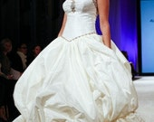 Millicent wedding gown sample size 4